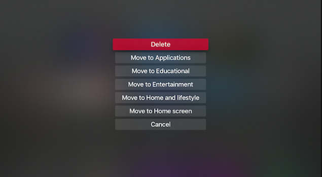 Apple TV Apps – How To Move, Delete, Quit And Rearrange Your Apps