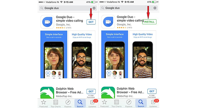 Google duo - Best Apps for iPhone