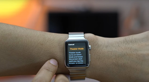 How To Activate Theater Mode In Your Apple Watch