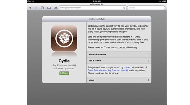 How To Jailbreak iPad 2