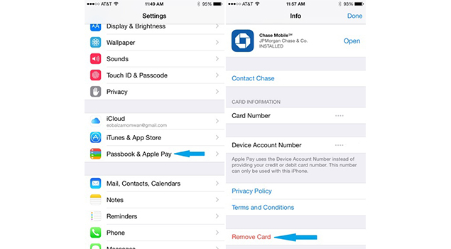 How To Remove Credit/Debit Card From Your Apple Pay