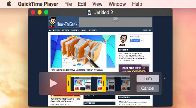 How To Trim Videos With QuickTime Video Editor
