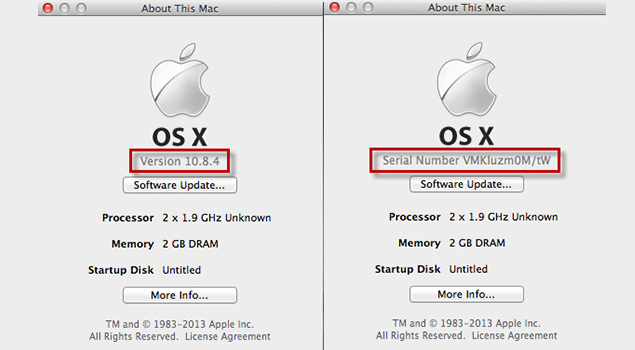 Mac OS X Version Codenames