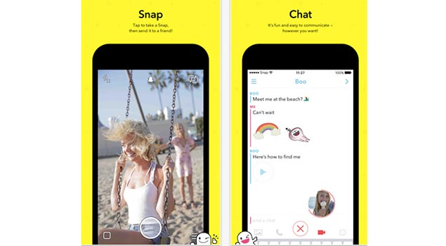 Snapchat - Top iPhone Apps for 2017