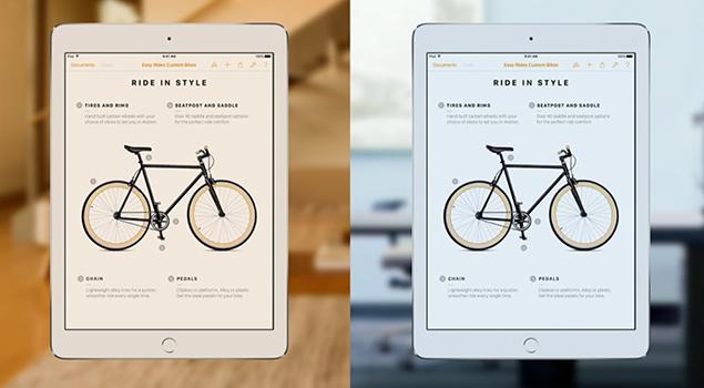 True Tone Display - iPad Pro Features