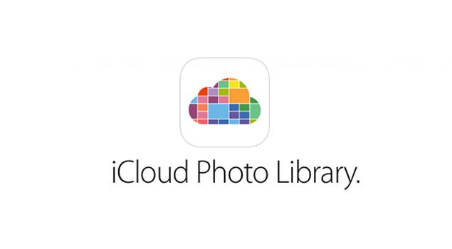 iCloud Photo Librarye