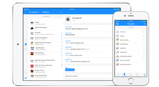 1 Password - Paid Apps for iPad