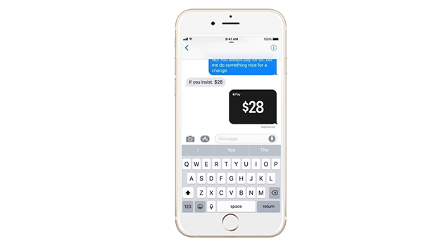 Apple Pay With Messages-10 Exciting New Things Introduced In iOS 11