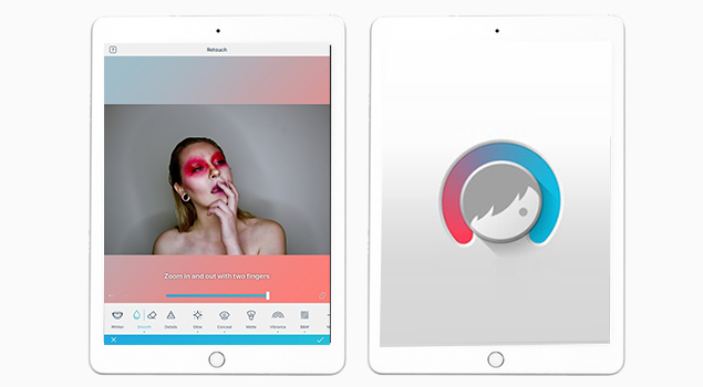 FaceTune-Find The Best photo editing apps for ipad