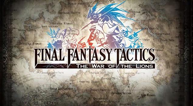 Final Fantasy Tactics The War Of Lions- Best iPad Games