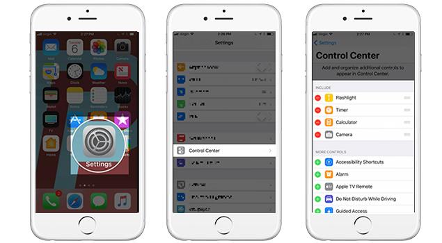 How To Customize iOS 11 Control Center.