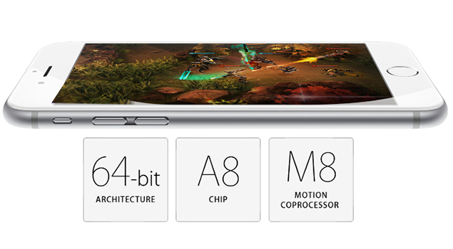 M8 Motion Co-Processor-iPhone 6 Plus Features