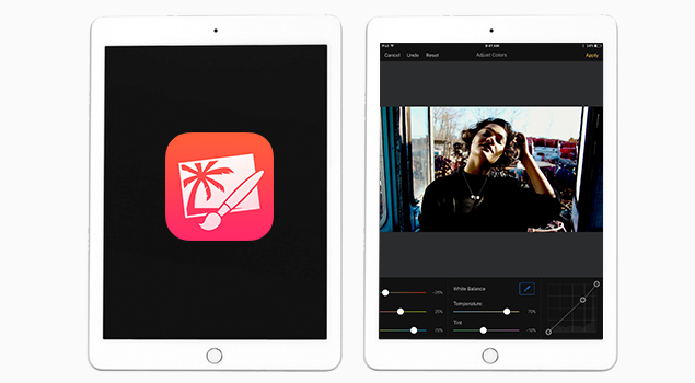 Pixelmator-Find The Best photo editing apps for ipad