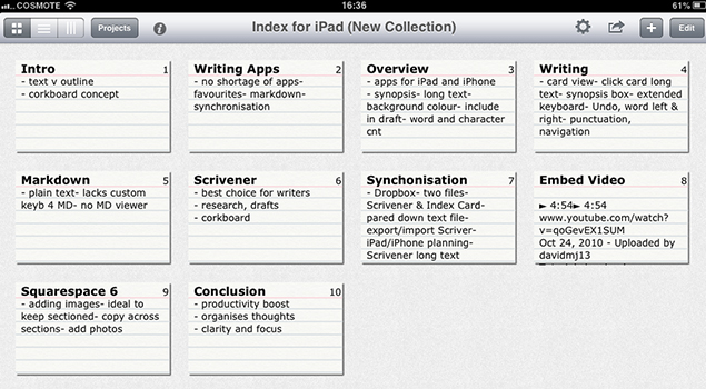 Scrivener - Paid Apps for iPad