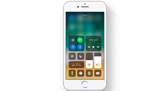 Updated Control Center-10 Exciting New Things Introduced In iOS 11