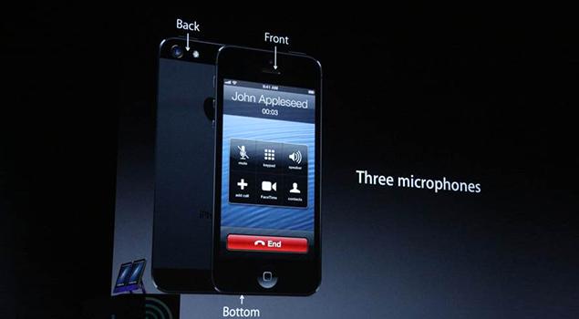 iPhone 5 Audio Features