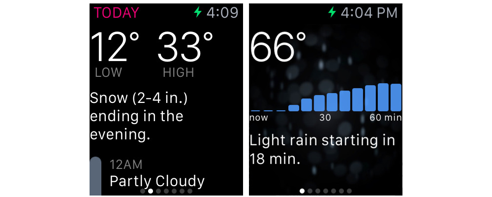 Dark Sky-Some Of The Best Apple Watch Apps Available On App Store