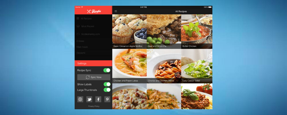 Foodie Recipes- Some Of The Best Holiday Cooking Apps For iPad