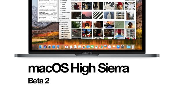 MacOS High Sierra Beta 2 Update