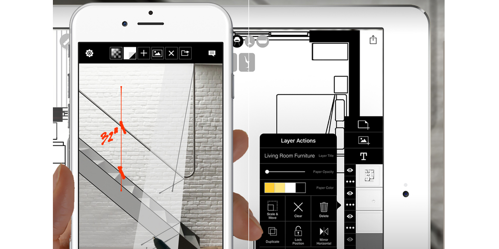 Morpholio Trace-Which Are The Best iPhone Apps For Architects