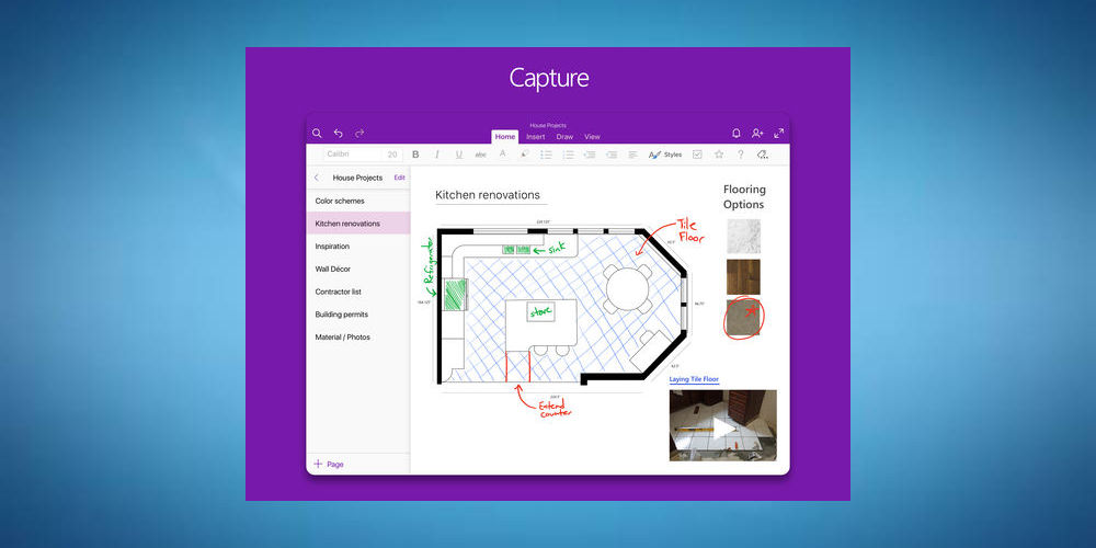 OneNote- Best iPad Apps For Taking Notes.