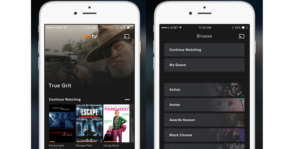 Tubi TV- 10 Best iPhone Apps For Free Movies