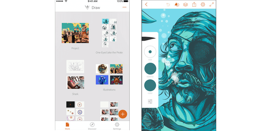 Adobe Illustrator Draw-Top 10 Best iPhone Apps For Designers In 2017