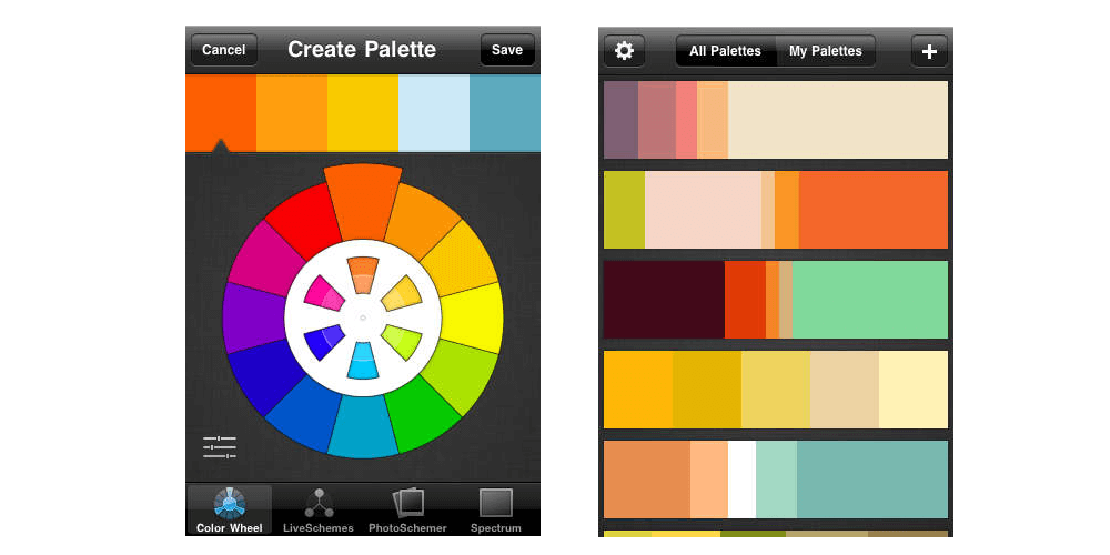 ColorSchemer-Top 10 Best iPhone Apps For Designers In 2017