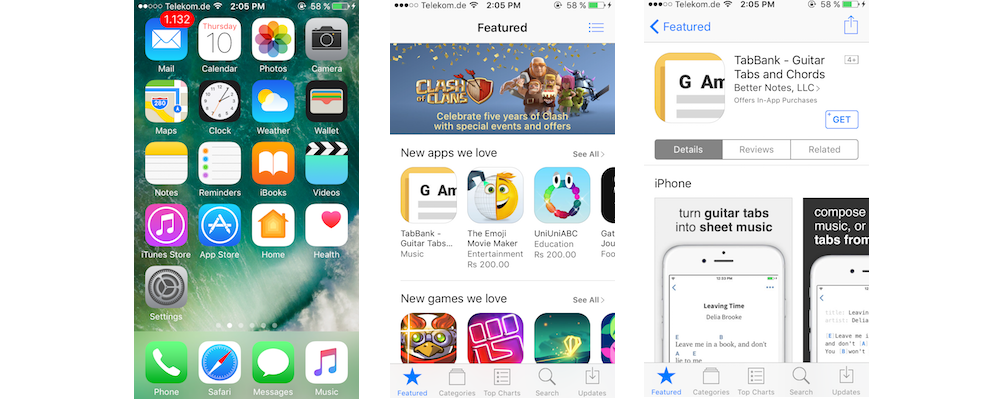 Finding Reviews In App Store On iPhoneiPad-How You Can Save And Share Your App Store Content