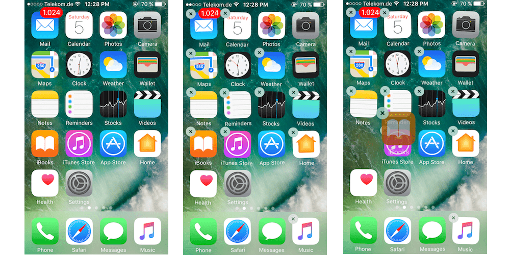 MMoving The Apps On Home Screen-Customizing Your iPhoneiPad Home Screen