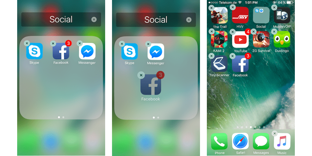Removing Apps From An App Folder On Home Screen-Moving Apps To New Home Screen