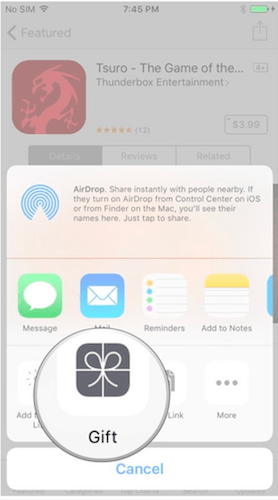 Sending App Store Content As Gift Card -How You Can Gift And Redeem Apps in App Store.