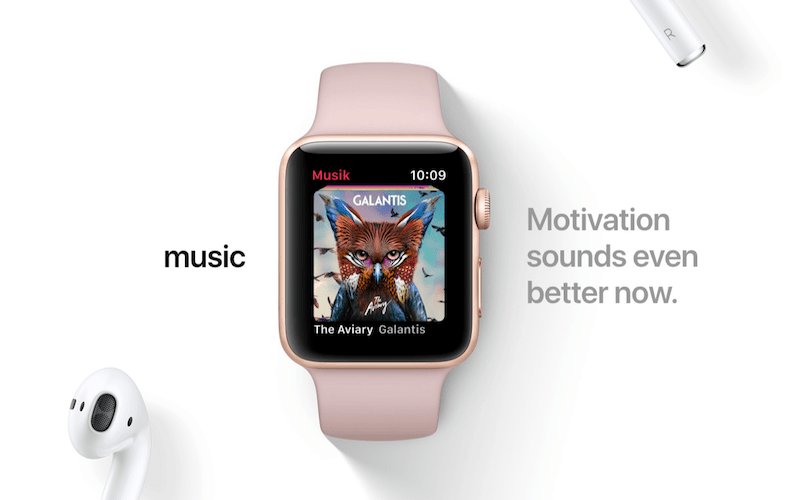 The Music App-All Details Revealed About The Latest watchOS 4