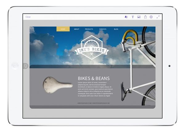 Adobe Comp CC - Best iPad Pro Pencil Apps