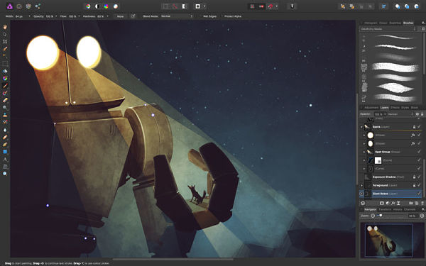 Affinity Photo Apps - Best iPad Pro Pencil Apps