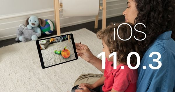 Downdgrade iOS 11.0.3