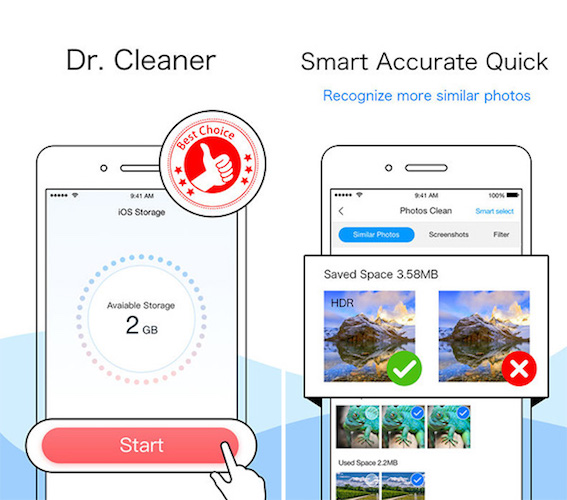 Free Up Storage Using Dr. Clean For iOS 11 - Download Now No Jailbreak N