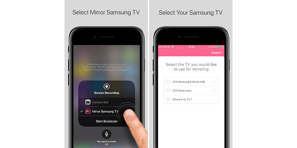 How You Can AirPlay Mirror An iPhone/iPad Running iOS 11 To