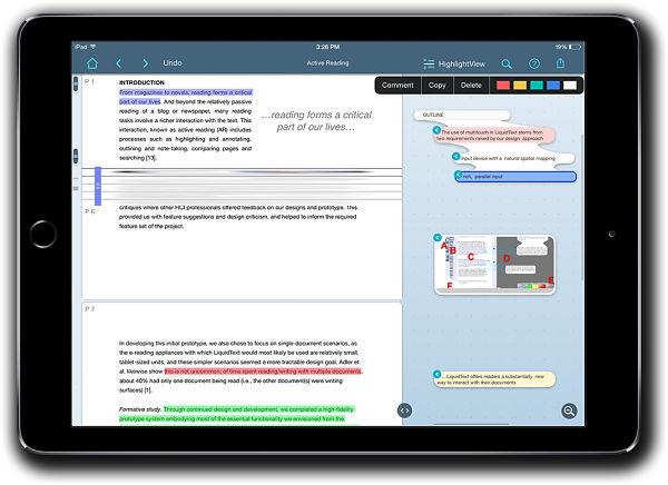 LiquidText App - Best iPad Pro Pencil Apps