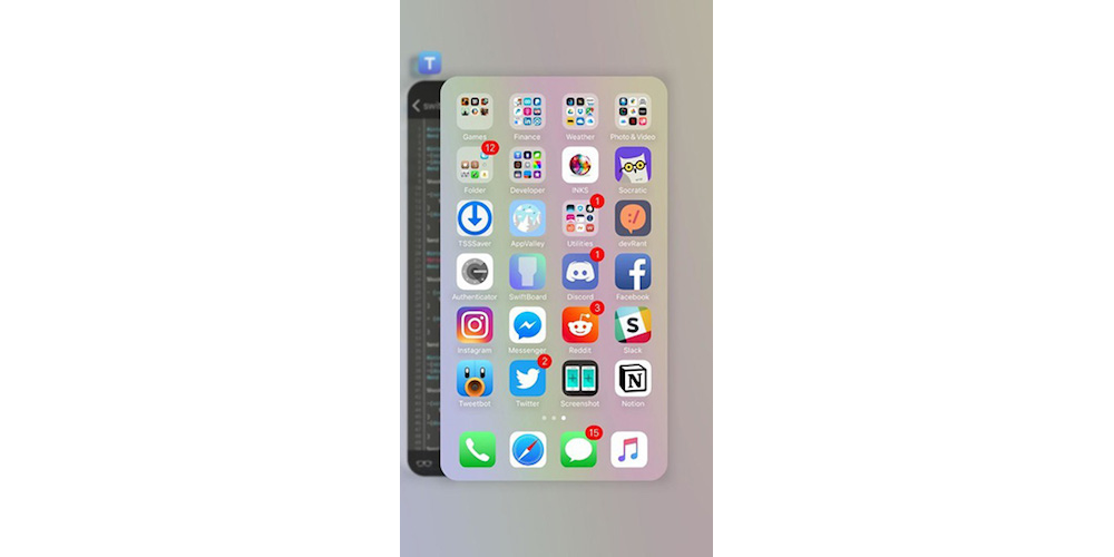 16. Use switcherRadii For Giving Rounded Corners To Your iOS 10 App Switcher Like in iPhone X