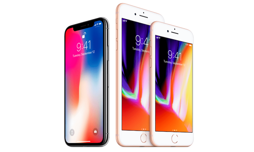 iPhone X vs iPhone 8 – Design Comparison-iPhone X - E