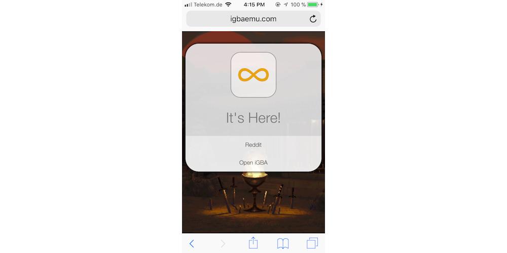 How ToGet iGBA 2.0 Emulator On iOS 11 Directly?