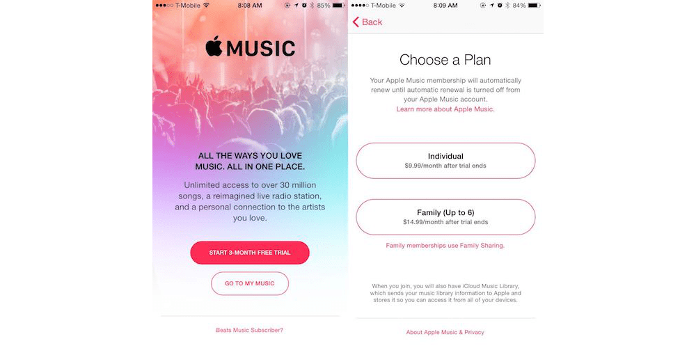 Different Apple Music Membership Plans Available-How To Manage Apple Music Membership