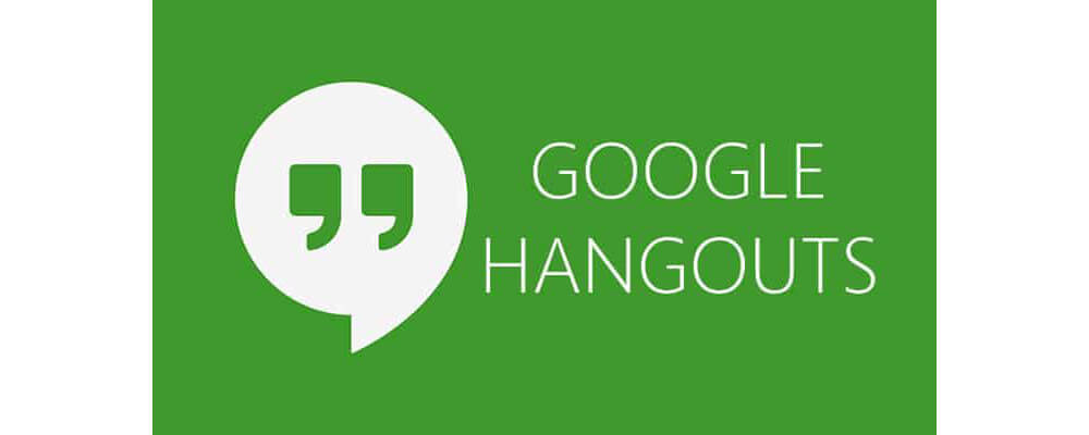 Hangouts-15 Best Chat Apps for iPhone