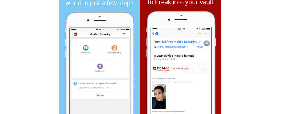 McAfee Security-Top 10 Antivirus Apps For iPhone
