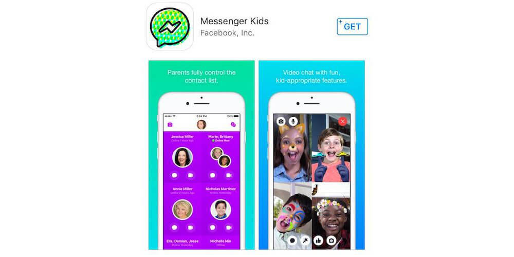 Messenger Kids-15 Best Chat Apps for iPhone