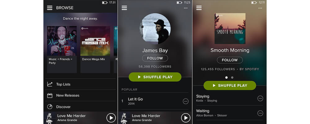 Using Spotify iOS App-Free Premium Spotify - How To Enjoy Uninterrupted Music