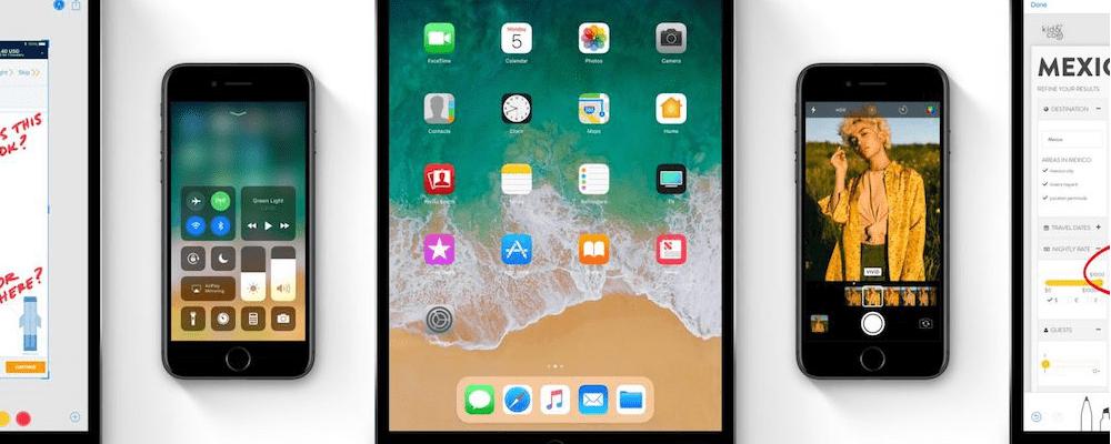 iOS 11-Apple Event 2017 - Major Rel