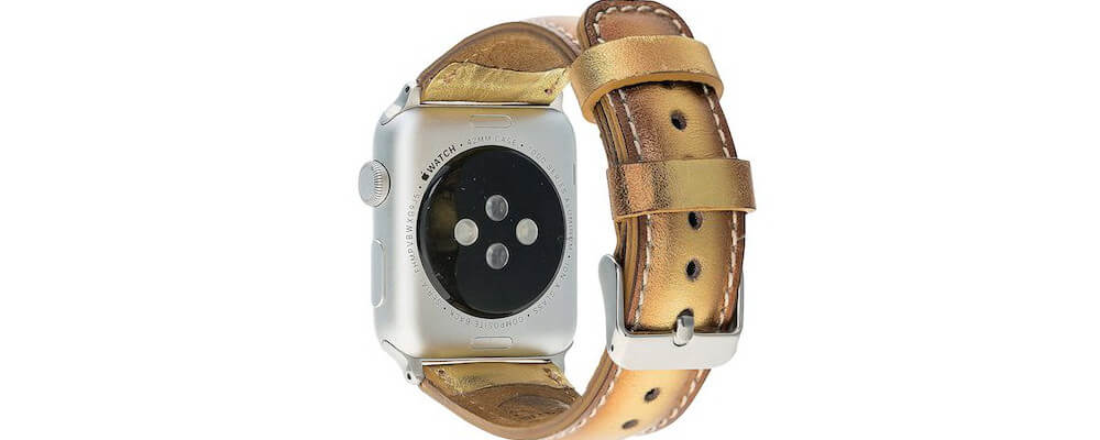 Burkley Soft Leather Band-Best Apple Watch Accessories