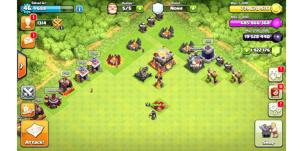 Clash Of Clans Mods-Clash Of Clans Hack And Cheats For COC Lovers